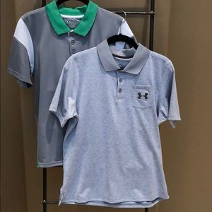 Two Under Armour Polos